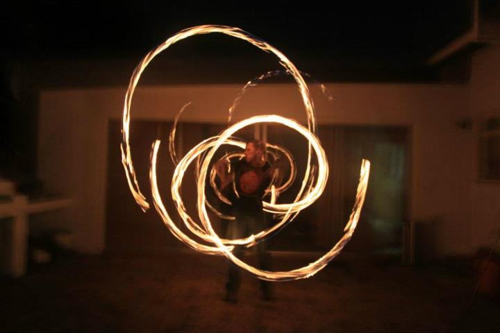 me on fire poi
