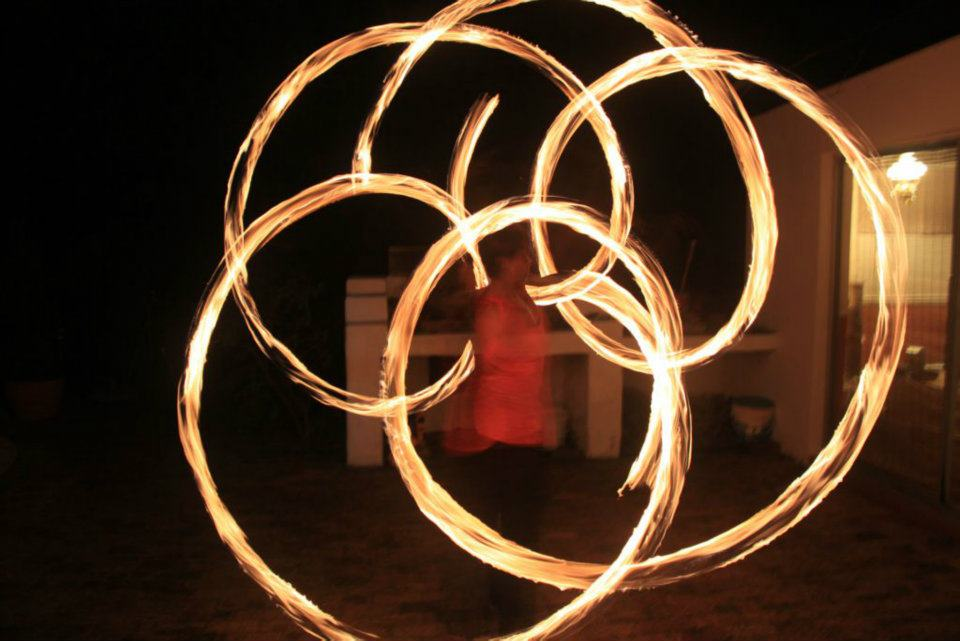 Natacha on fire poi