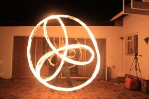 Fire poi Cape Town